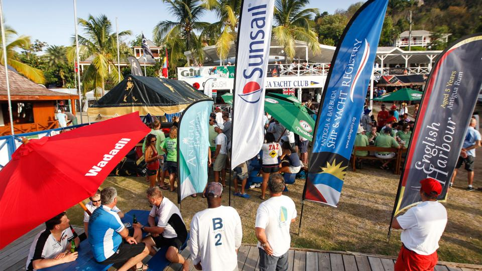 antigua sailing week party