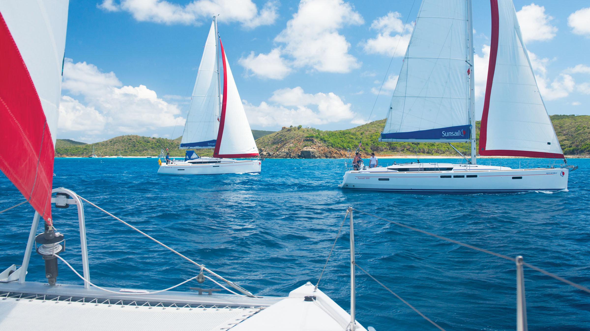 three-boats-sailing