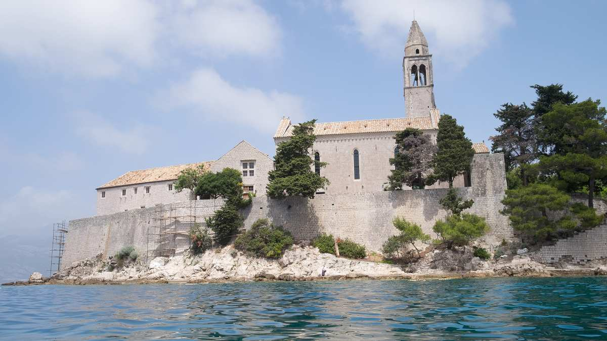 Church by the sea in Croatia