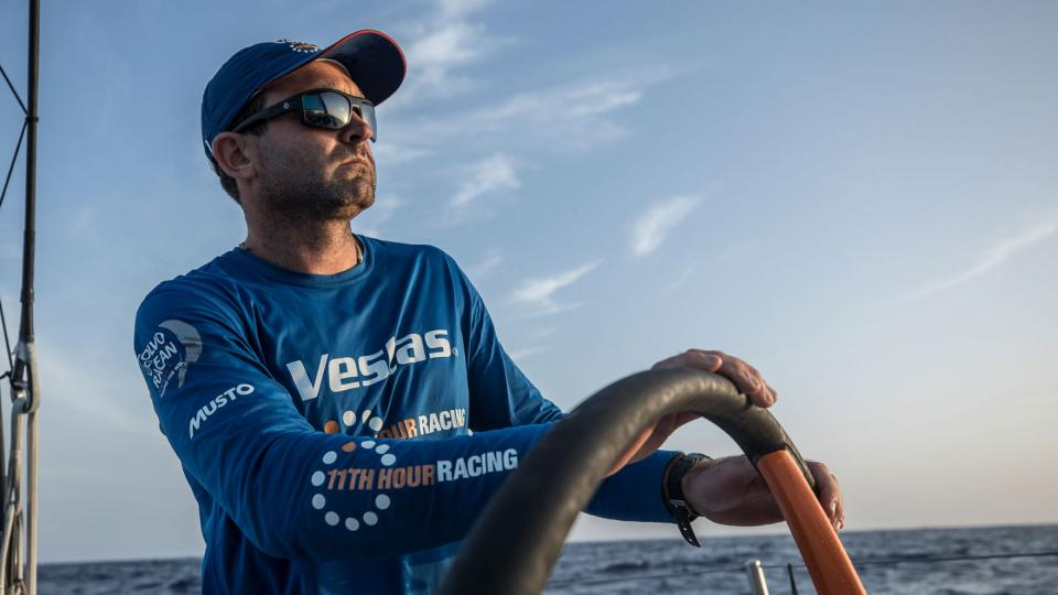 Leg 01, Alicante to Lisbon, day 05, on board Vestas 11th Hour Racing. Photo by James Blake Volvo Ocean Race. 26 October, 2017