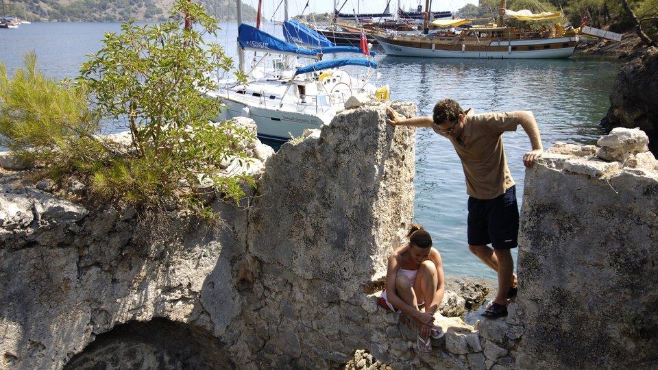 Cultural sailing vacations