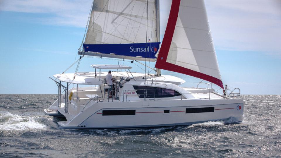 Sunsail 404 - 4 cabin