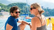 Couple Enjoying Corfu Island on a Sunsail Catamaran