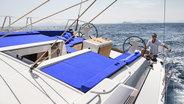 Man sailing on Sunsail yacht