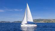 Sunsail 41 sailing