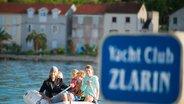 Zlarin island, Croatia